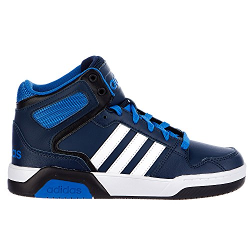 adidas NEO BB9TIS K Basketball Shoe (Little KidBig Kid) (4.5 M US Big Kid, Collegiate NavyWhiteSatellite)